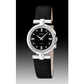 Uhrenarmband Candino C4560-2 Leder Schwarz