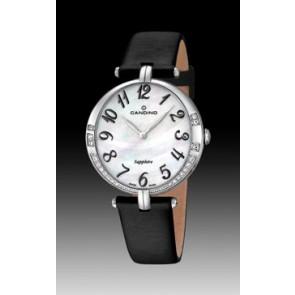 Uhrenarmband Candino C4601-4 Leder Schwarz