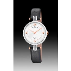 Uhrenarmband Candino C4658-2 Leder Schwarz