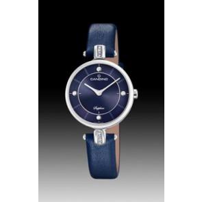Uhrenarmband Candino C4658-3 Leder Blau