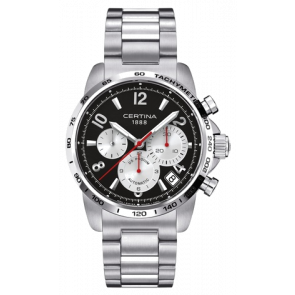Uhrenarmband Certina C0016141105700A / C605014464 Stahl Stahl 22mm