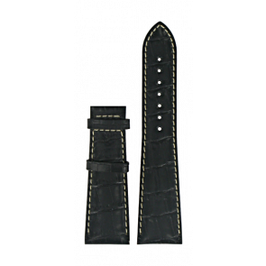 Uhrenarmband Certina C610014032 XL Leder Schwarz 23mm