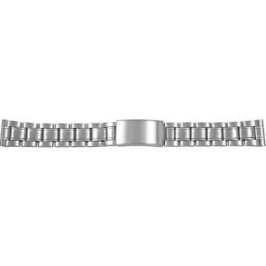 Uhrenarmband CMA54-26 Metall Silber 26mm