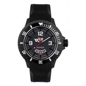 Uhrenarmband Ice Watch DI.BW.XB.R.11 Kunststoff Schwarz 20mm
