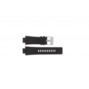 Uhrenarmband Diesel DZ4128 Leder Dunkelbraun 16mm