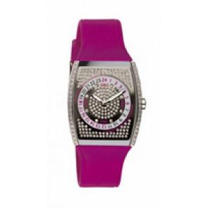Uhrenarmband Dolce & Gabbana DW0071 Silikon Rot