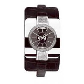 Uhrenarmband Dolce & Gabbana DW0161 Leder Schwarz
