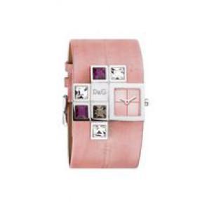 Uhrenarmband Dolce & Gabbana DW0176 Leder Rosa