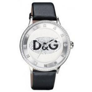 Uhrenarmband Dolce & Gabbana DW0507 Leder Schwarz