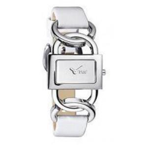 Uhrenarmband Dolce & Gabbana DW0563 Leder Weiss 16mm