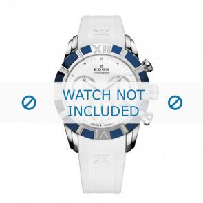 Edox Uhrenarmband 10405-357B-NAIN Silikon Weiss 18mm