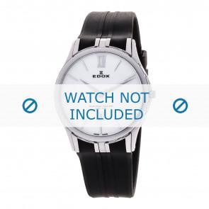Edox Uhrenarmband 27033-3-BIN Silikon Schwarz