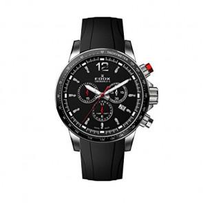 Uhrenarmband Edox 10229-3CA-NIN Kautschuk Schwarz