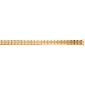 Damen Chrome Stretcharmband, passend für Damenuhren mit der Größe 10 - 14mm