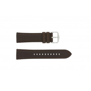Uhrenarmband Fossil FS4735 / FS4813 Leder Braun 22mm