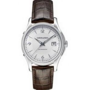 Uhrenarmband Hamilton H001.32.515.555.01 / H600325100 Leder Braun 20mm