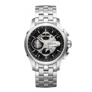 Uhrenarmband Hamilton H001.32.696.139.01 / H605376100 Stahl Stahl 22mm