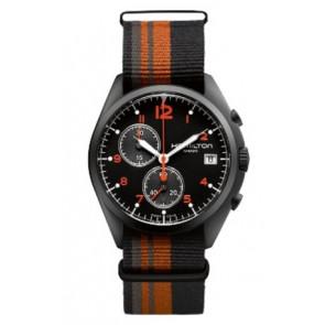 Uhrenarmband Hamilton H76582933 Textil Mehrfarbig 22mm