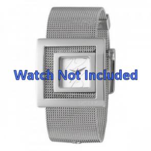 DKNY Uhrenarmband NY4302 Stahl Silber 24mm