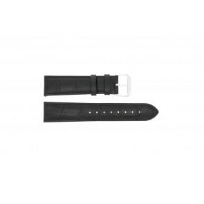 Uhrenarmband Universal 305L.01.12 XL Leder Schwarz 12mm