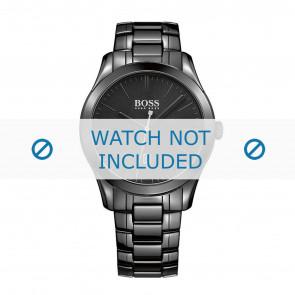 Hugo Boss Uhrenarmband HB-269-1-49-2792 / HB1513223 Keramik Schwarz