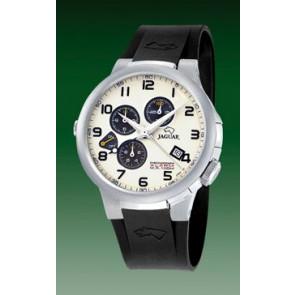 Uhrenarmband Jaguar J1202-01 Kautschuk Schwarz 20mm