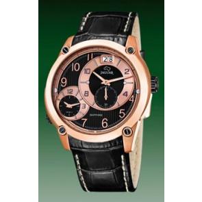 Uhrenarmband Jaguar J631/3 / J635/1 Leder Schwarz 24mm
