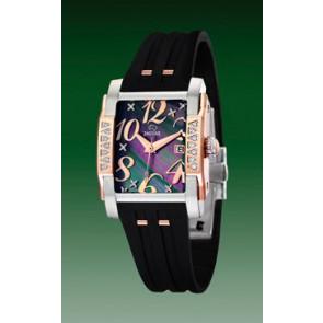 Uhrenarmband Jaguar J648-2 Kautschuk Schwarz
