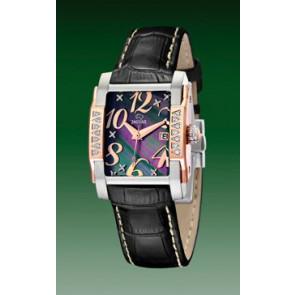 Uhrenarmband Jaguar J648-4 Leder Schwarz