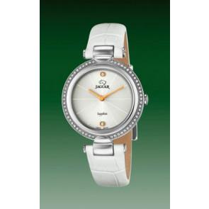 Uhrenarmband Jaguar J832-1 Leder Weiss
