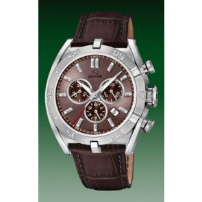 Uhrenarmband Jaguar J857-6 Leder Braun