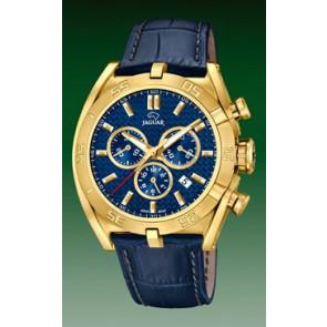 Uhrenarmband Jaguar J858-2 Leder Blau