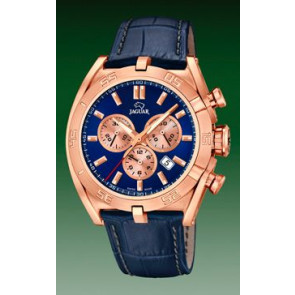 Uhrenarmband Jaguar J859-2 Leder Blau