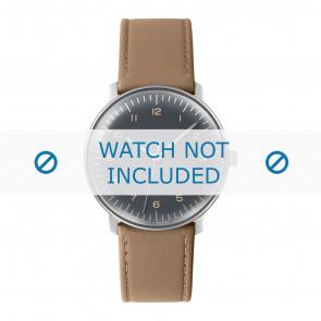 Junghans Uhrenarmband 027/3401.00 Leder Beige 20mm + standardnähte