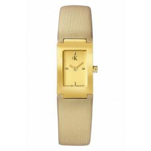 Uhrenarmband Calvin Klein K604022453 / K0411224 Leder Beige