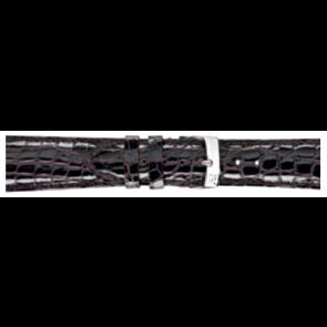 Morellato Uhrenarmband Amadeus XL G.Croc Gl K0518052032CR22 / PMK032AMADEU22 Krokodilhaut Dunkelbraun 22mm + standardnähte