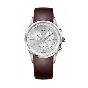 Uhrenarmband Calvin Klein K22271 Kautschuk Braun