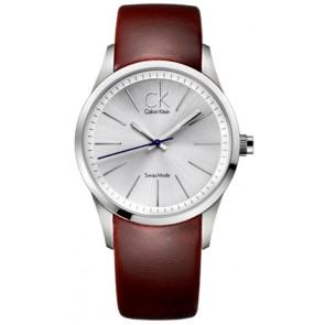 Uhrenarmband Calvin Klein K2241138 Leder Braun