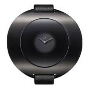 Uhrenarmband Calvin Klein K37231 Leder Schwarz 12mm