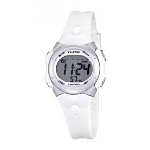Uhrenarmband Calypso K5609-1 Kautschuk Weiss