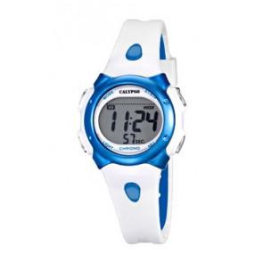 Uhrenarmband Calypso K5609-4 Kautschuk Weiss
