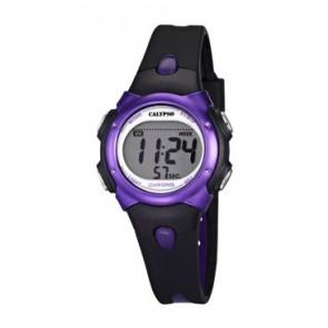 Uhrenarmband Calypso K5609-5 Kautschuk Schwarz