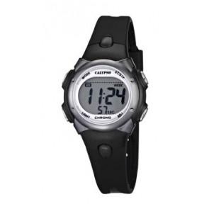 Uhrenarmband Calypso K5609-6 Kautschuk Schwarz