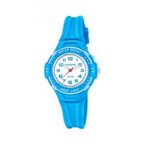 Uhrenarmband Calypso K6070-3 Kautschuk Blau