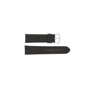Uhrenarmband WoW E.5316 Leder Dunkelbraun 22mm