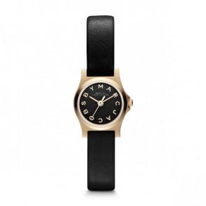Uhrenarmband Marc by Marc Jacobs MBM1240 Leder Schwarz