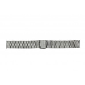 Other brand Uhrenarmband MESH24 Metall Silber 24mm