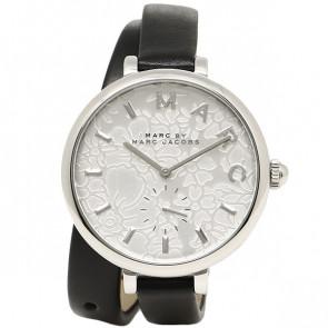 Uhrenarmband Marc by Marc Jacobs MJ1419 Leder Schwarz
