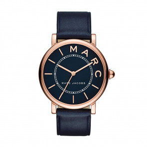 Uhrenarmband Marc by Marc Jacobs MJ1534 Leder Blau 18mm