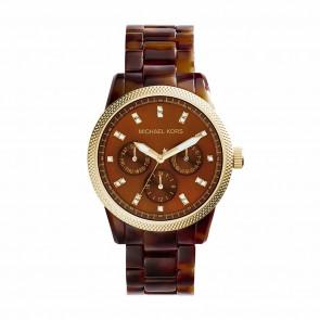 Uhrenarmband Michael Kors MK5038 Kunststoff Braun